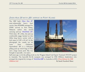 Press release DSB Offshore Ltd